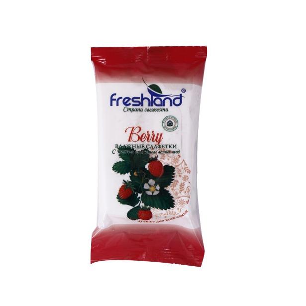 фото Набор салфеток влажных универсальных Freshland PK-850128-12 Berry