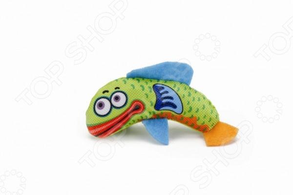 Игрушка для кошек Beeztees «Рыбка» 440558 игрушка для кошек beeztees удочка цвет черный