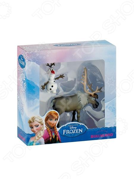 Набор фигурок-игрушек Bullyland «Олаф и Свен» набор посуды для детей stor холодное сердце олаф и свен