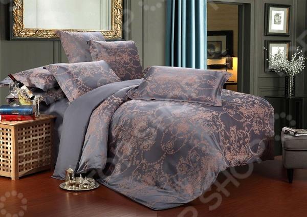 Комплект постельного белья Primavelle «Анкори». 2-спальный2-спальные<br>Комплект постельного белья Primavelle Анкори это сочетание прекрасного качества и стильного современного дизайна. Он внесет яркий акцент в интерьер вашей спальной комнаты, добавит ей элегантности и изысканности. В набор входит пододеяльник, простынь и наволочки. Верх пододеяльника и наволочек выполнен из тенселя, а низ и простыня из сатина. Тенсель представляет собой целлюлозное волокно, производимое из древесины эвкалиптового дерева. Оно отлично зарекомендовало себя в пошиве постельного белья, благодаря воздухопроницаемости, гипоаллергенности и устойчивости к истиранию. Ткани и готовые изделия производятся на современном импортном оборудовании и отвечают европейским стандартам качества. Рекомендуется стирать белье в деликатном режиме без использования агрессивных моющих средств.<br>