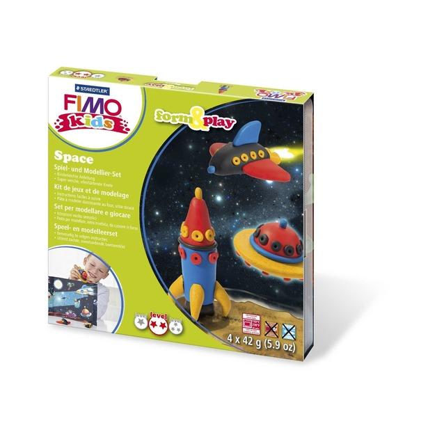 фото Набор для создания украшений детский Fimo Kids «Космос»