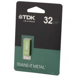 фото Флешка TDK TRANS-IT METAL Green 32GB 2.0 USB Flash Drive