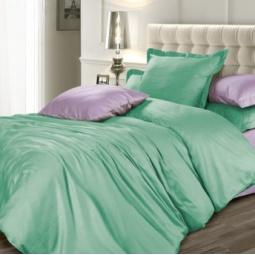 фото Комплект постельного белья Унисон «Ментоловый бриз». 1,5-спальный