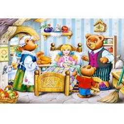 Купить Пазл 260 элементов Castorland «Три медведя»