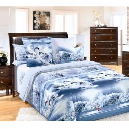 фото Комплект постельного белья Белиссимо «Лебединое озеро». 2-спальный. Размер простыни: 220х240 см