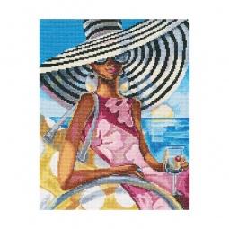 фото Набор для вышивания RTO «Эффектные женщины в роскошных местах»
