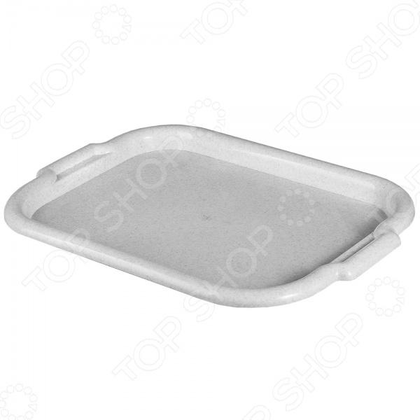 Поднос IDEA М 1110 незаменимый аксессуар для подачи блюд к повседневному или праздничному столу. Кроме того, этот поднос может пригодиться для подачи завтрака в постель любимому человеку. Изделие выполнено из высококачественного пластика.