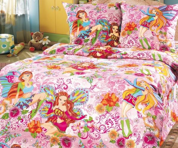 Детский комплект постельного белья Бамбино «Добрые феи» 1708546 детский комплект постельного белья бамбино волшебницы
