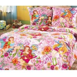 Купить Детский комплект постельного белья Бамбино «Добрые феи»