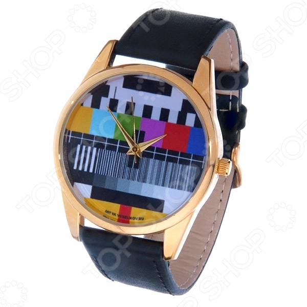 Часы наручные Mitya Veselkov «ТВ-сетка» Gold часы наручные mitya veselkov тв сетка gold 25
