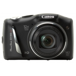 фото Фотокамера цифровая Canon PowerShot SX150 IS. Цвет: черный