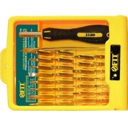 Купить Отвертка переставная для точных работ с набором головок FIT 56188