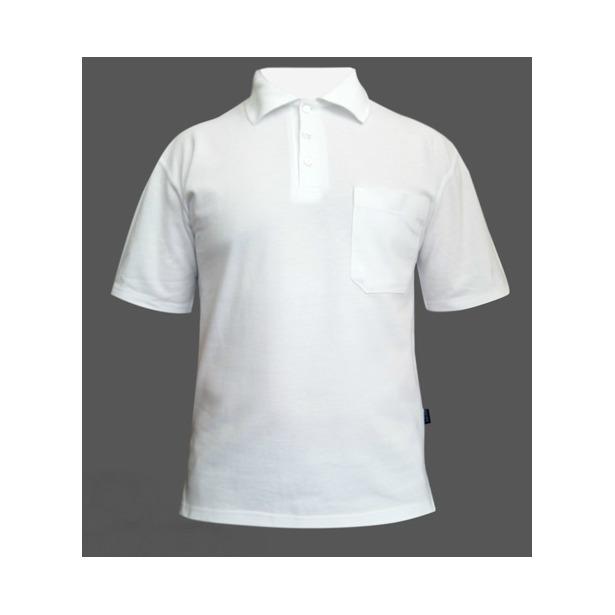 фото Поло мужское Dodogood М287. Цвет: белый. Размер одежды: 48