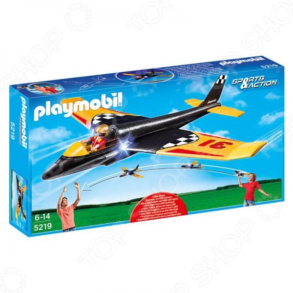Планер игрушечный со световыми эффектами Playmobil «Игры на открытом воздухе: Скоростной планер» playmobil® playmobil 5110 конный клуб трекерная лошадь со стойлом