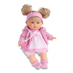фото Кукла интерактивная Munecas Antonio Juan «Кристи». Цвет: розовый