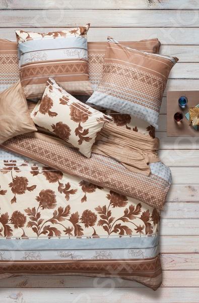 Комплект постельного белья Сова и Жаворонок Premium «Сандал» атаманенко и шпионское ревю