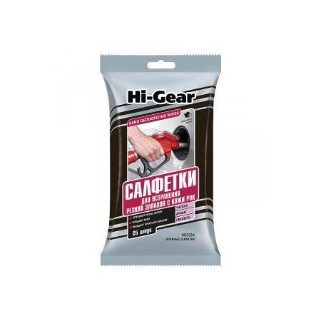 Купить Салфетки для устранения резких запахов Hi Gear HG 5584