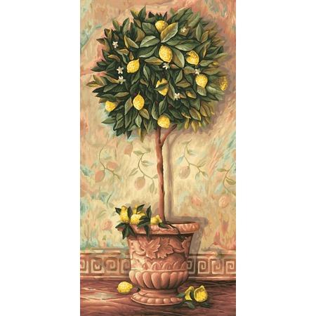 Купить Набор для рисования по номерам Schipper «Лимонное дерево»