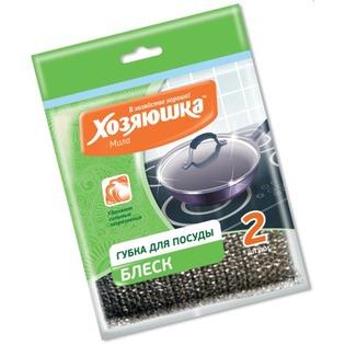 Купить Губка для посуды Хозяюшка 01018-100