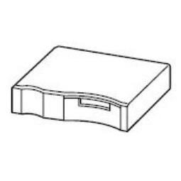 Купить Крышка воздухопровода для ингалятора Omron NE-U17-E