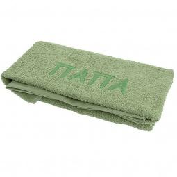 фото Полотенце подарочное с вышивкой TAC Папа. Цвет: зеленый