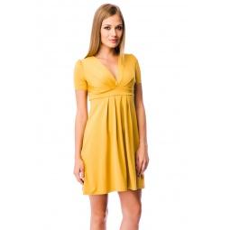 фото Платье Mondigo 6087. Цвет: горчичный