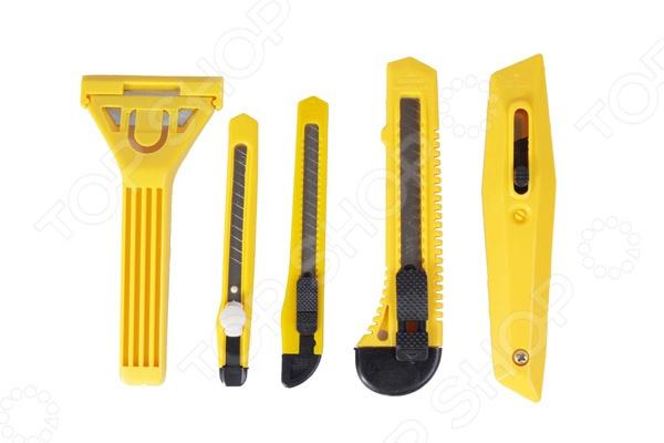 Набор ножей и скребков B10 90013 нож с выдвижным лезвием truper cut 6x 16977