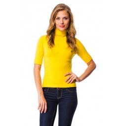 фото Свитер Mondigo 9003. Цвет: желтый. Размер одежды: 42