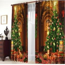 Купить Шторы «Новогодняя ночь»