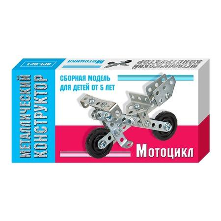 Купить Конструктор металлический Десятое королевство «Мотоцикл»