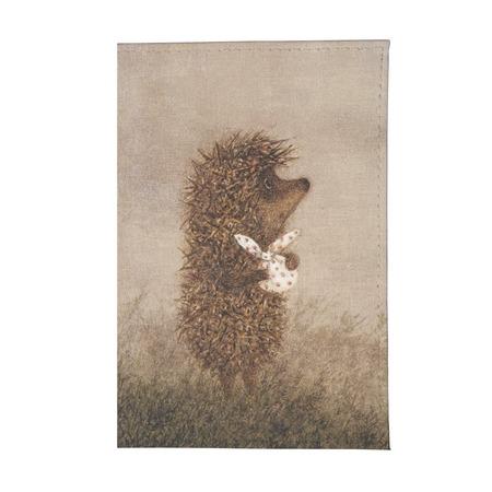 Купить Обложка для паспорта Mitya Veselkov «Ежик c котомкой»