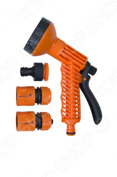 Пистолет-распылитель с аксессуарами Archimedes 90933 штуцер резьбовой универсальный archimedes 90992