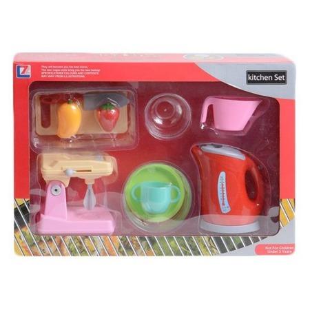 Купить Игровой набор с техникой для кухни Shantou Gepai «Чайник, миксер и посуда»