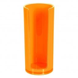 фото Подставка для ватных дисков Spirella Sydney Acrylic. Цвет: оранжевый