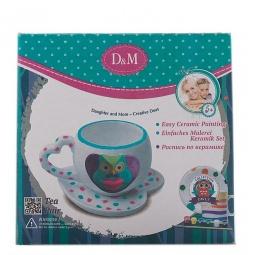 фото Набор для росписи керамики Делай с Мамой «Чайный набор Совушка»