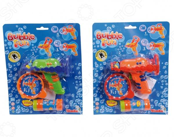 Пистолет для мыльных пузырей Simba 7289940. В ассортименте