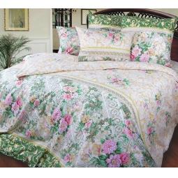 фото Комплект постельного белья Королевское Искушение «Римский дворик». 1,5-спальный. Размер простыни: 214x145 см