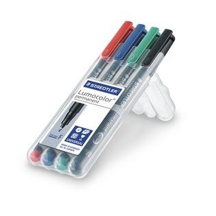 Купить Набор перманентных маркеров Staedtler 318WP4