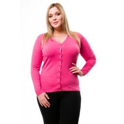 фото Жакет Mondigo XL 9130. Цвет: коралловый. Размер одежды: 52