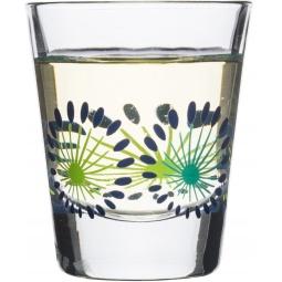 фото Набор стаканов низких Sagaform Fantasy. Цвет: прозрачный, синий