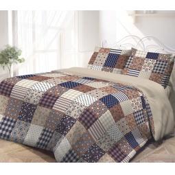 фото Комплект постельного белья Гармония «Печворк». 1,5-спальный. Размер наволочки: 70х70 см — 2 шт