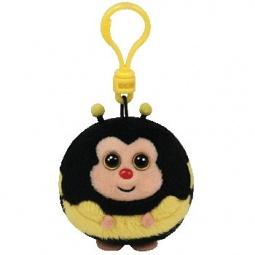 фото Мягкая игрушка с клипсой TY Пчела ZIPS. Высота: 12,5 см