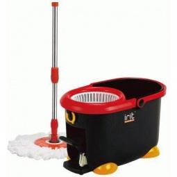фото Набор для влажной уборки: швабра-моп и ведро пластиковое Irit IRL-02