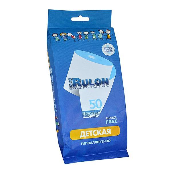 фото Туалетная бумага влажная гипоаллергенная антибактериальная Авангард MR-48329 Mon Rulon