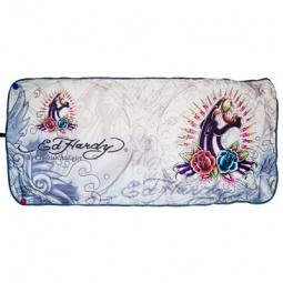 Купить Шторка солнцезащитная на лобовое стекло ED Hardy EH-02938 Panther and roses