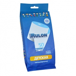Купить Туалетная бумага влажная гипоаллергенная антибактериальная Авангард MR-48329 Mon Rulon