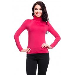 фото Водолазка Mondigo 146. Цвет: ярко-розовый. Размер одежды: 42
