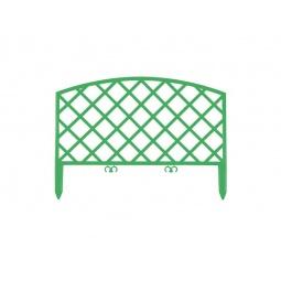 фото Забор декоративный Grinda «Плетень» 422207. Цвет: зеленый