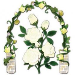 Купить Стикеры ЗD EKSuccess Tools «Розы в саду»