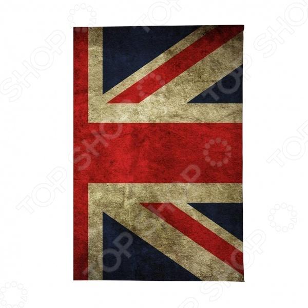 Обложка для автодокументов Mitya Veselkov «Потертый британский флаг»